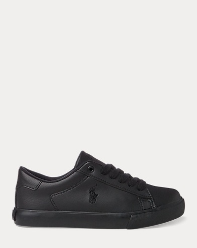 Easten Faux-Leather Sneaker