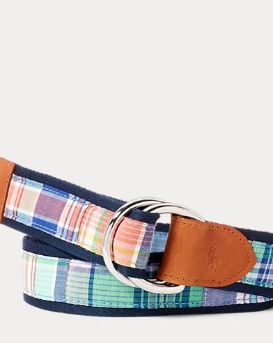 Cotton Madras Belt
