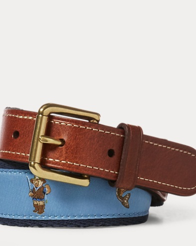 Fishing Polo Bear Belt