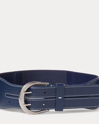 Cornwall Faux-Leather Belt