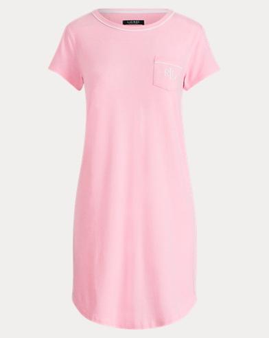 Cotton-Modal Sleep Tee