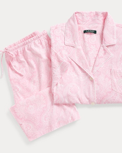 Cotton Bermuda Short Set