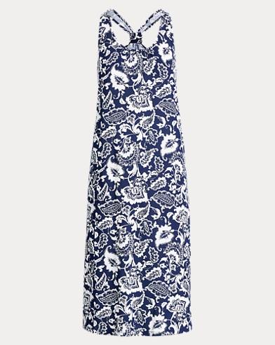 Racerback Cotton Gown