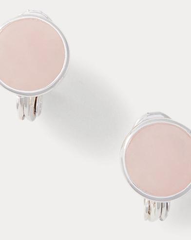 Rose Clip-On Earrings