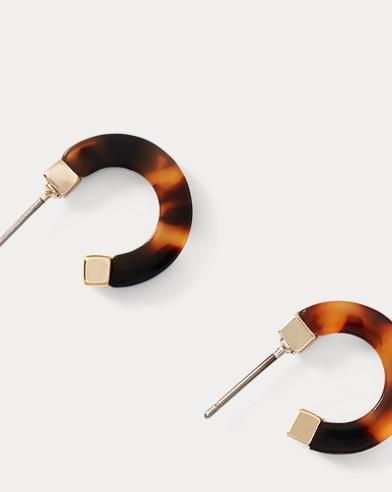 Tubular Hoop Earrings