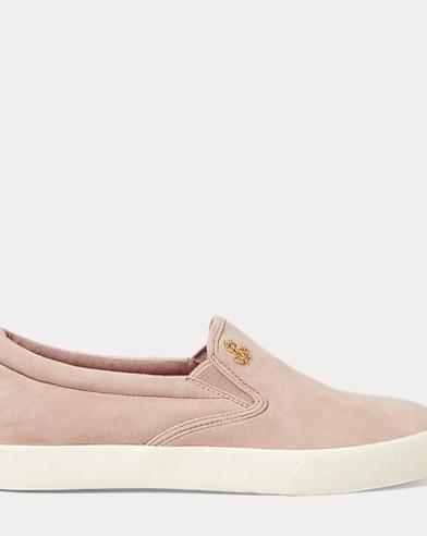 Ria Suede Slip-On Sneaker
