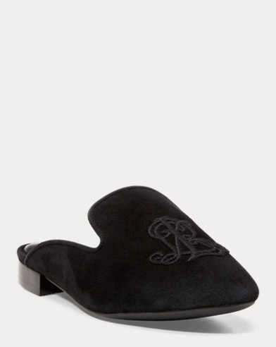 Suede Slipper Flat