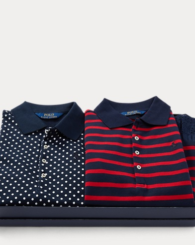 Eyelet Polo 2-Piece Gift Set