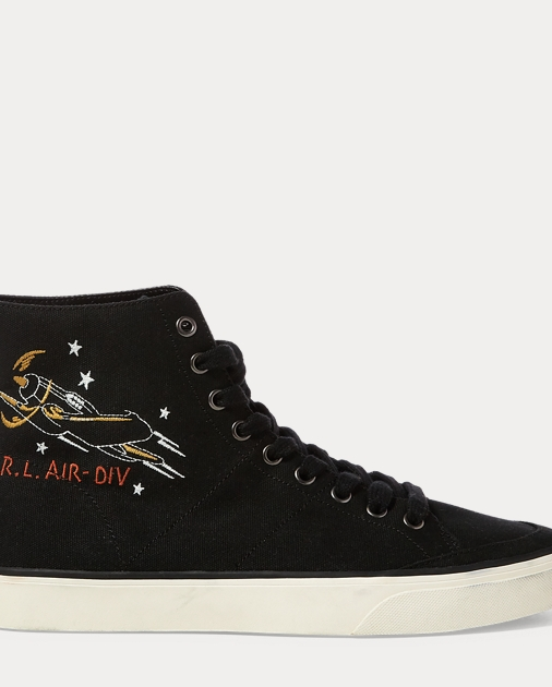 Solomon Canvas Sneaker by Ralph Lauren