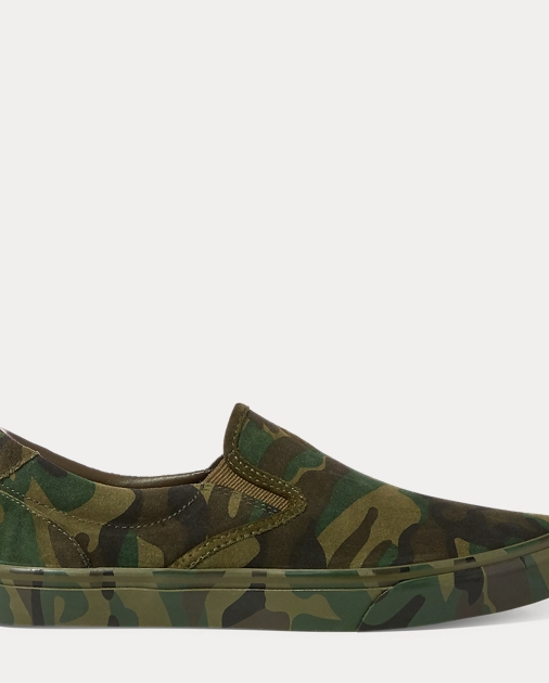 Thompson Suede Sneaker by Ralph Lauren