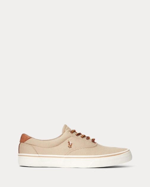 Thorton Canvas Low Top Sneaker by Ralph Lauren