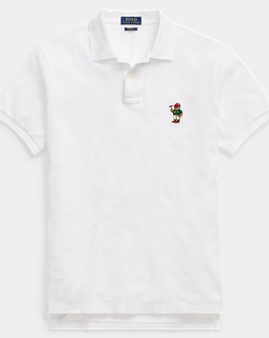 Custom Fit Bear Mesh Polo