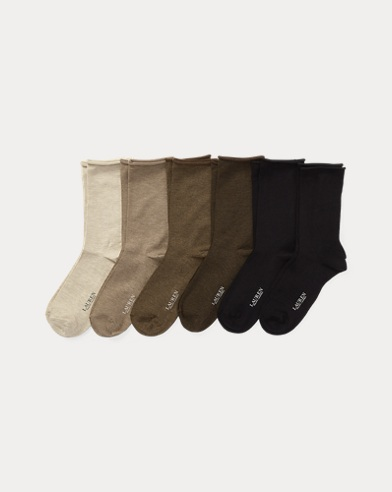 Roll-Top Sock 6-Pack