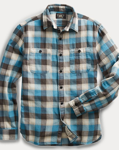 Plaid Twill Workshirt