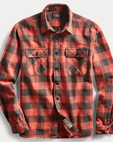 Matlock Plaid Twill Workshirt