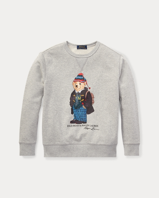 University Bear Sweatshirt by Ralph Lauren