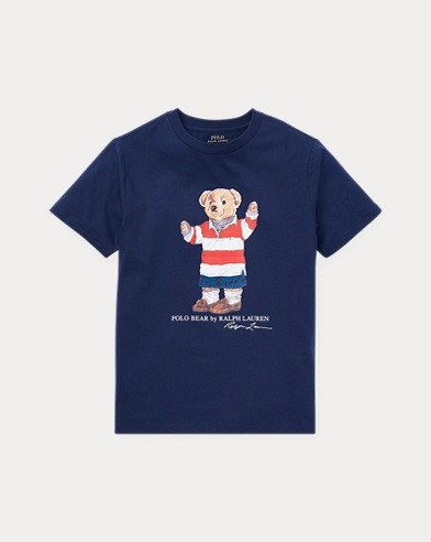 Rugby Bear Cotton T-Shirt