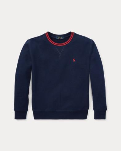 Cotton-Blend-Fleece Sweatshirt