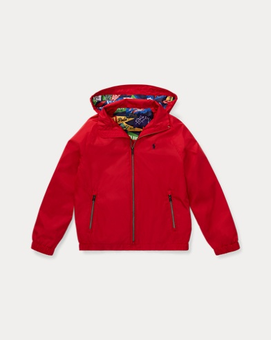 Packable Hooded Windbreaker