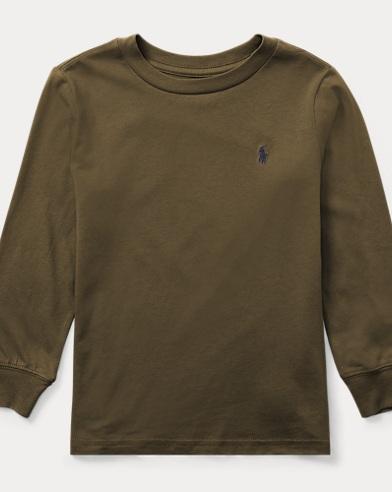 Cotton Long-Sleeve T-Shirt