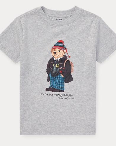 University Bear Cotton T-Shirt
