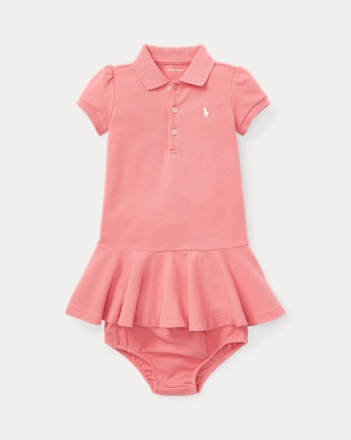 Piqué Polo Dress & Bloomer