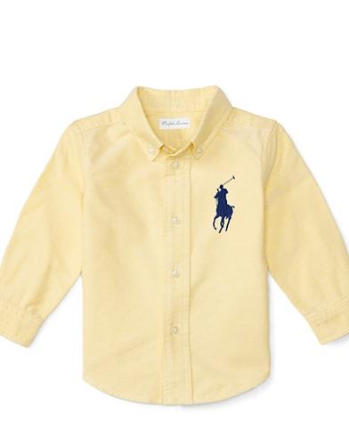 Blake Cotton Oxford Shirt