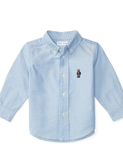 Blake Polo Bear Cotton Shirt