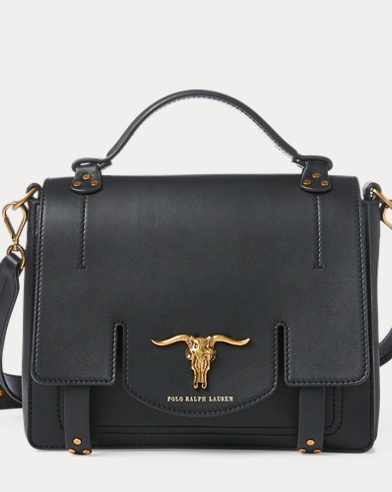 Leather Small Schooly Bag