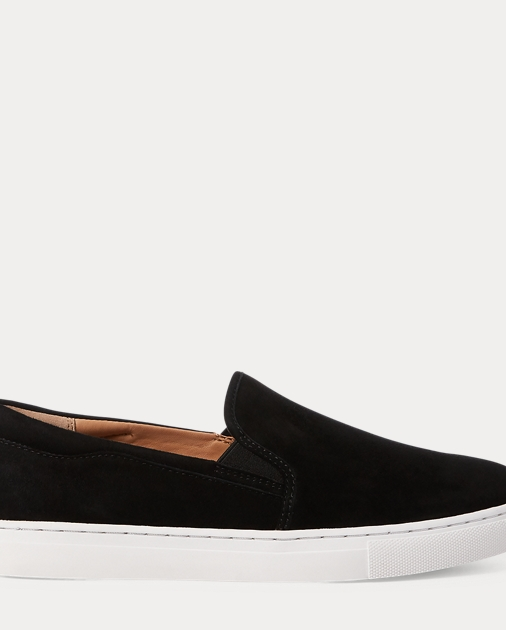 Drea Suede Slip On Sneaker by Ralph Lauren