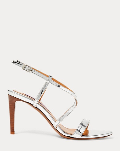 Arissa Specchio Leather Sandal