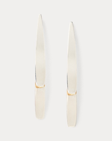 Layered Curved Earrings