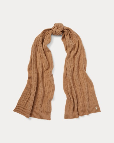 Wool-Cashmere Rectangular Scarf