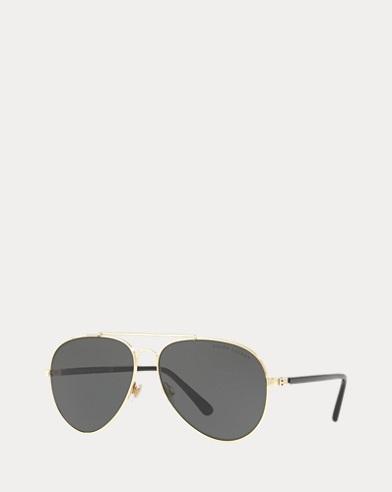 Tinted Pilot Sunglasses