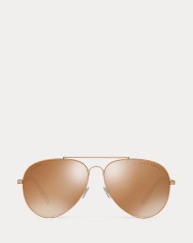 Mirrored Pilot Sunglasses