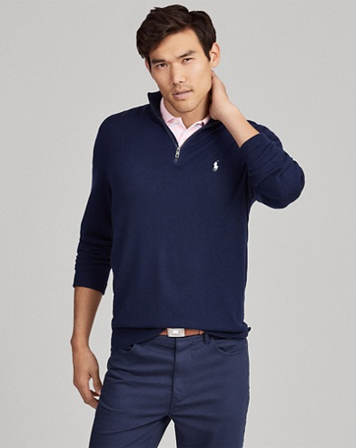 U.S. Open Merino Wool Sweater