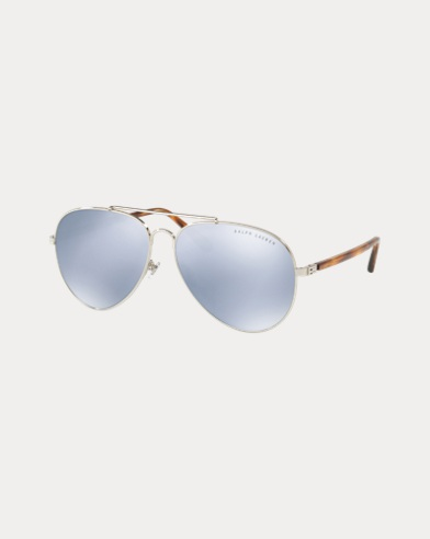 Mirrored Pilot Sunglasses