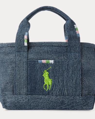 Denim Small Scholar II Tote