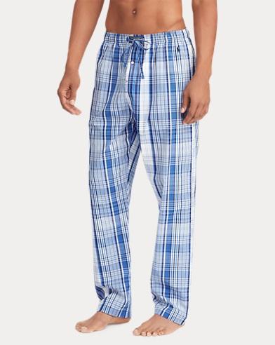 Woven Cotton Pajama Pant