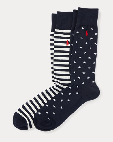 Polo Ralph Lauren. Flag Liner Sock 3-Pack. $21.00. Stars & Stripes Sock  2-Pack
