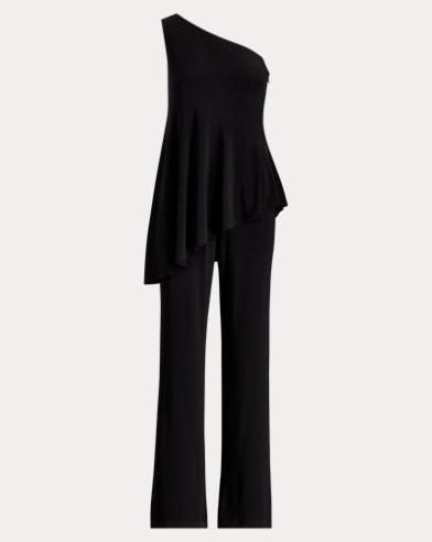 One-Shoulder Jersey Jumpsuit