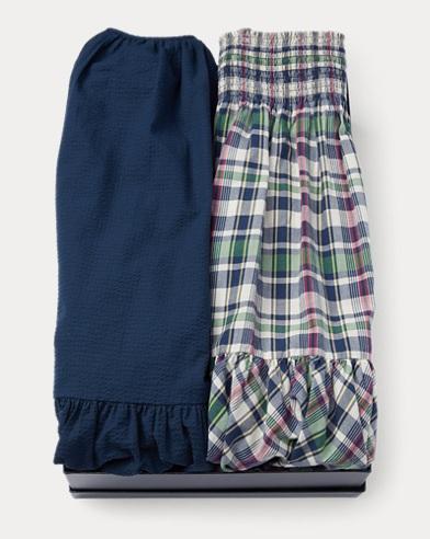 Cotton Dress 2-Piece Gift Set