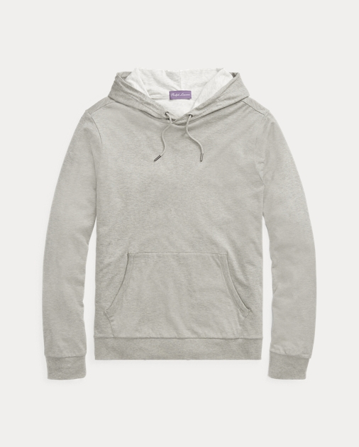 Cotton Lisle Hoodie by Ralph Lauren