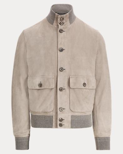 Suede Skeet Jacket