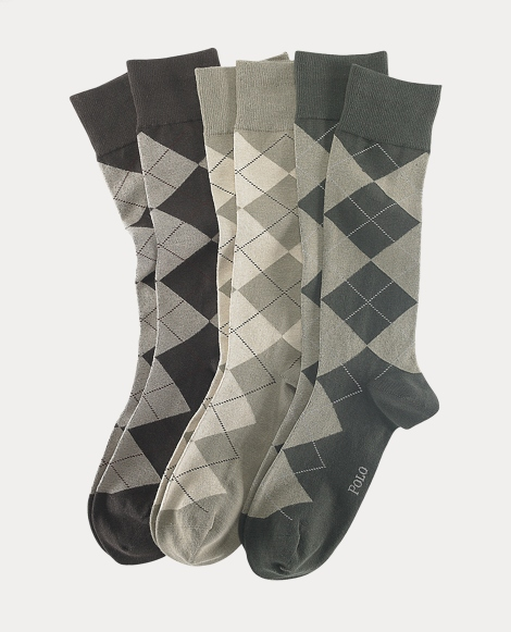 Argyle Dress Sock 3-Pack