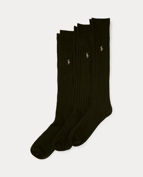 Mercerized Slack Sock 3-Pack