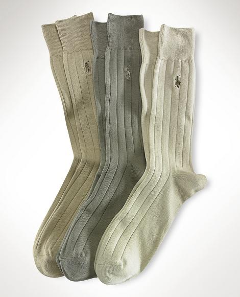 Ribbed Slack Sock 3-Pack