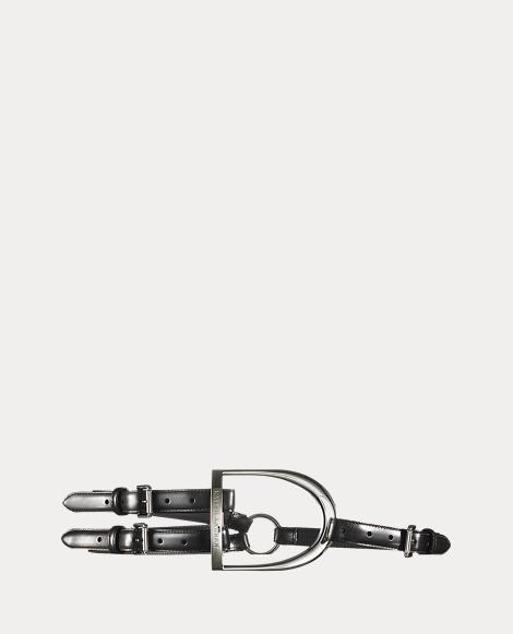 Equestrian Tri-Strap Calf Belt