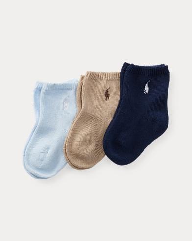 Stretch Crew Sock 3-Pack