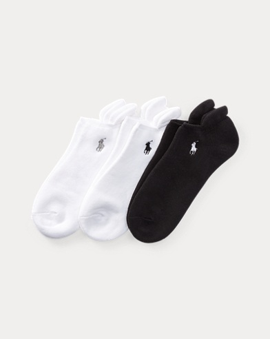 Cushioned Heel Low Sock 3-Pack